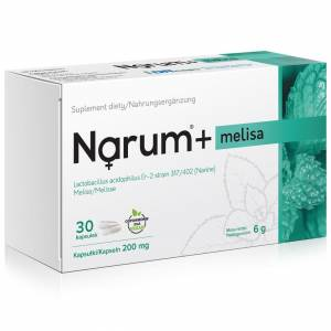 Narum+ Melisa 200 mg 30szt.