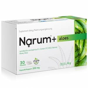 Narum+ Aloes 200 mg 30szt.