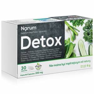 Narum+ Detox 200 mg 30szt.