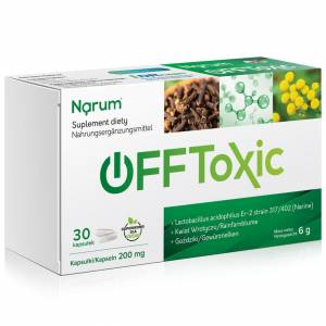 Narum+ OFFtoxic 200 mg 30szt.