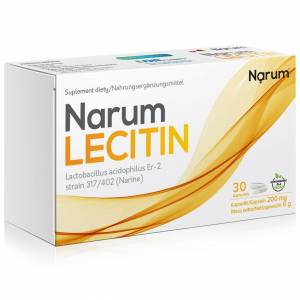 Narum+ Lecitin 200 mg 30szt.