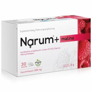 Narum+ Malina 200 mg 30szt.