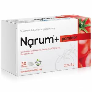 Narum+ Pomidor 200 mg 30szt.