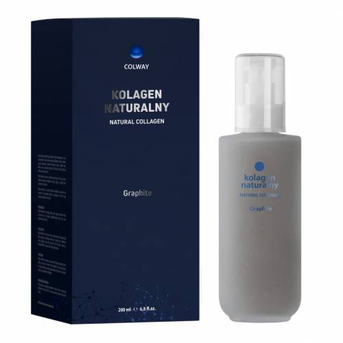 Colway Graphite Natural Collagen Kolagen Naturalny 200 ml