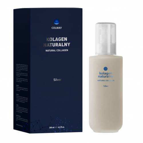 Colway Silver Natural Collagen Kolagen Naturalny 200 ml